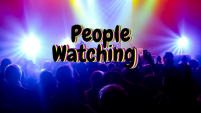 people-watching